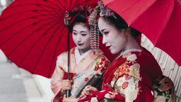 Да си гейша е доходоносна професия за момичета с качества