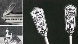 Откриха уникални ножове на Фаберже
