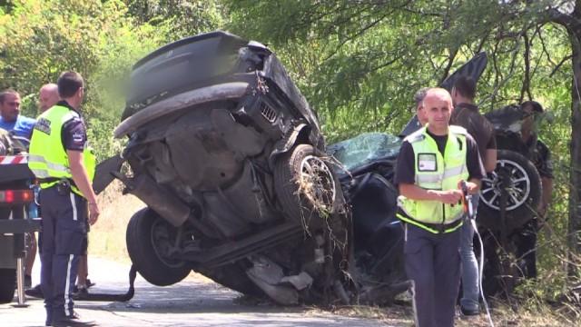 Млад шофьор загина при жестока катастрофа