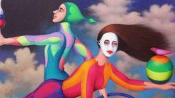 Животът като цирк в картините на Жозе де ла Бара