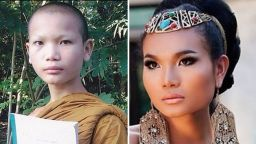 Будистки монах става супермоделката на Тайланд