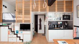 Как да живеем удобно в Манхатън на 30 кв. м