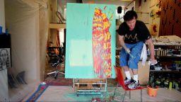Джим Кери бори депресията с рисуване