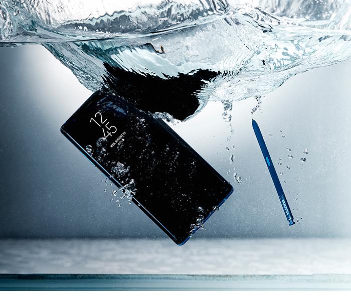 Колко здрав е Samsung Galaxy Note 8?