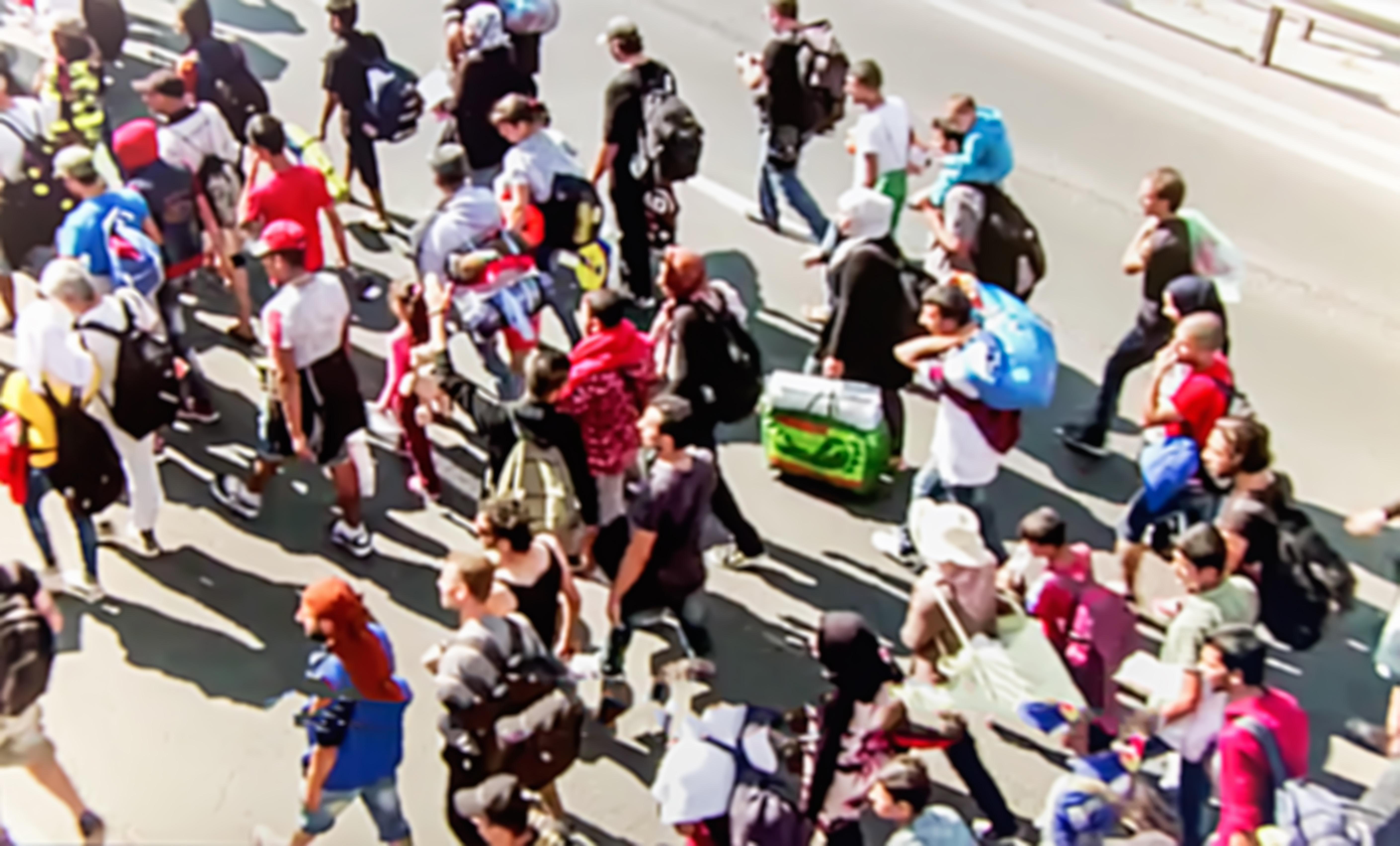 Осуетиха мигрантски наплив към България