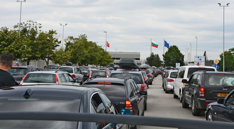 """Хиляди пловдивчани """"празнуваха"""" на границата"""