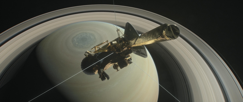 """Учени откриха """"оста"""" на Сатурн"""