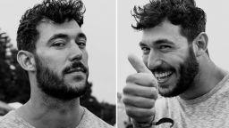 Фотографка снима непознати преди и след като ги е целунала