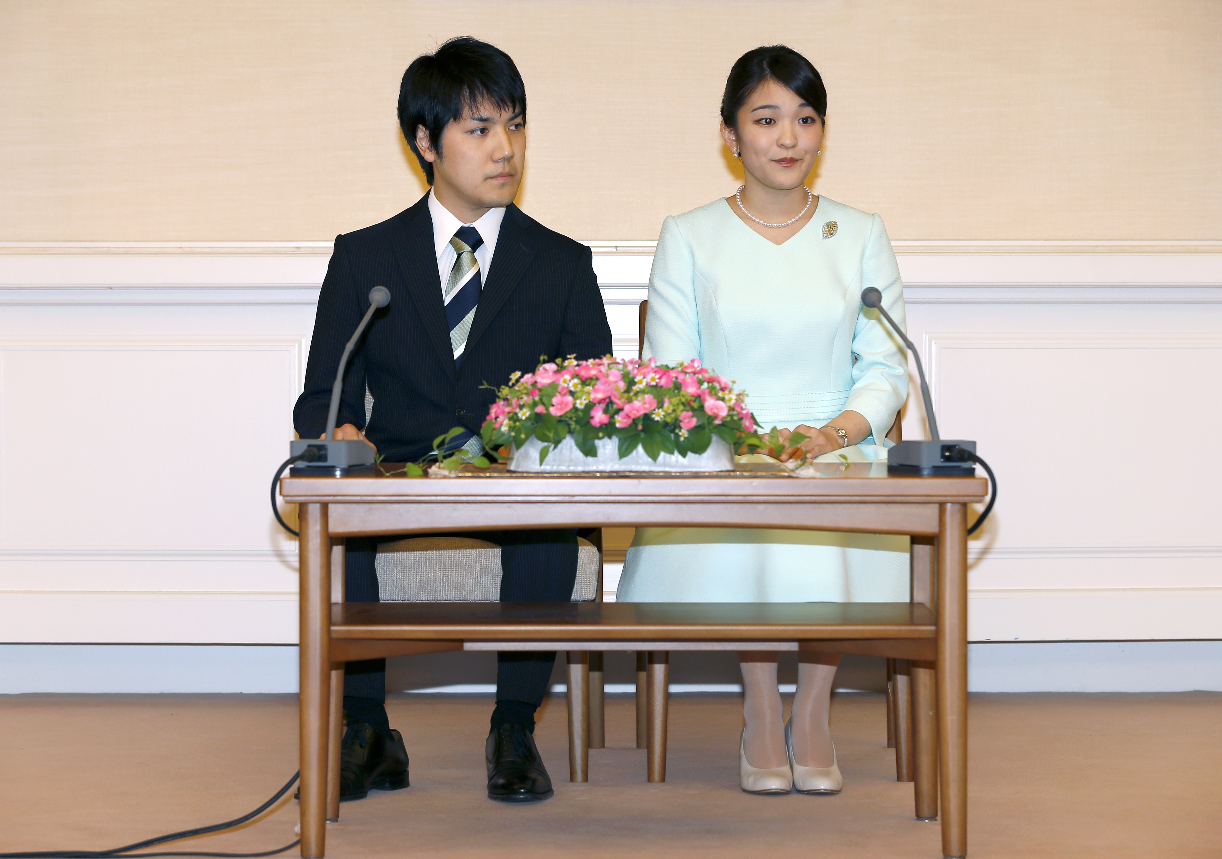 Принцеса Мако и Кей Комуро
