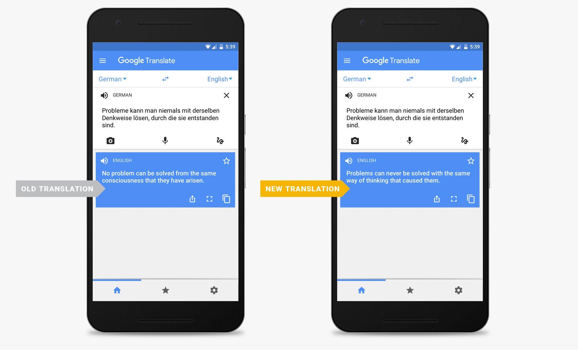 DeepL превежда по-точно от Google