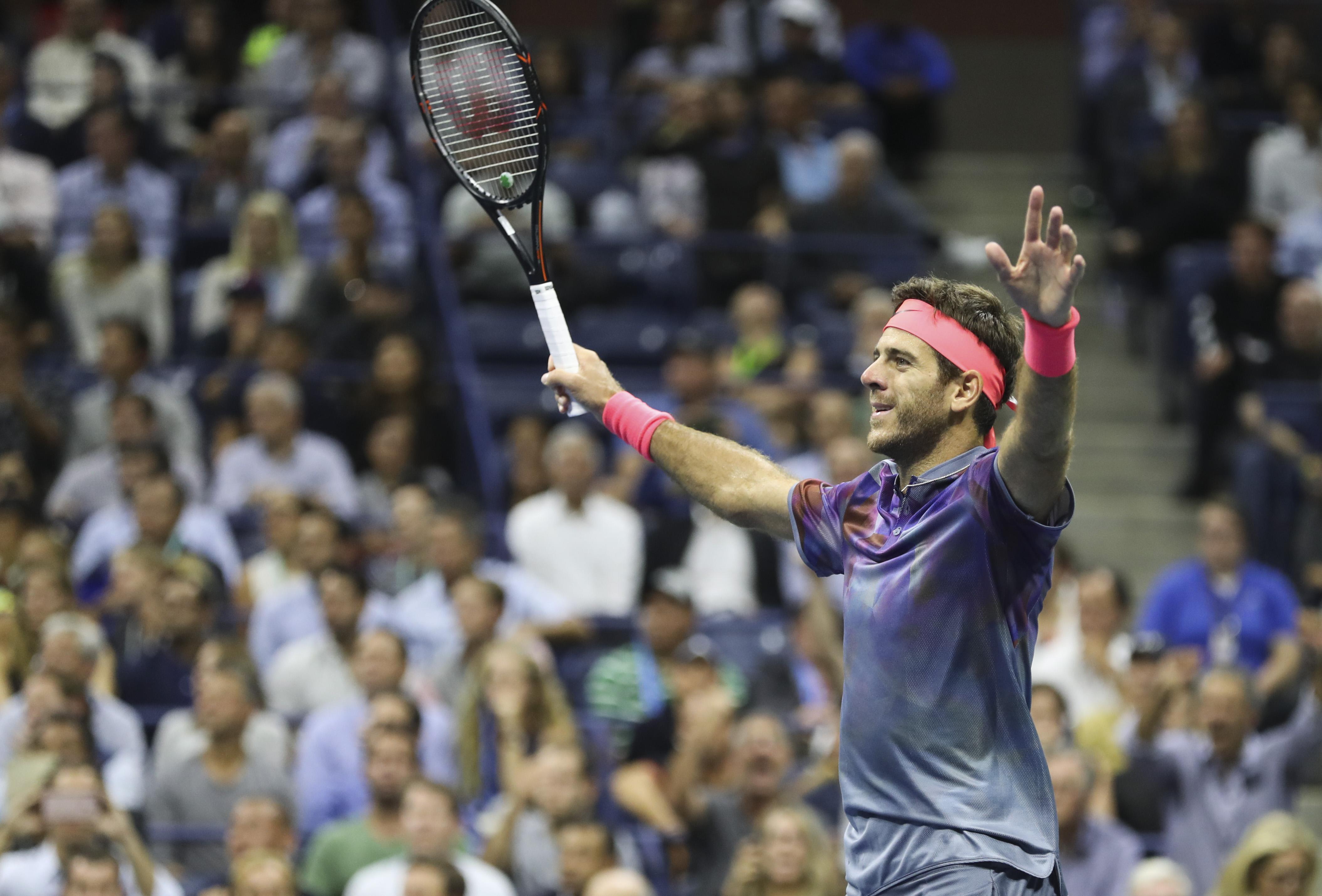 Дел Потро шокира Федерер и ще играе 1/2-финал