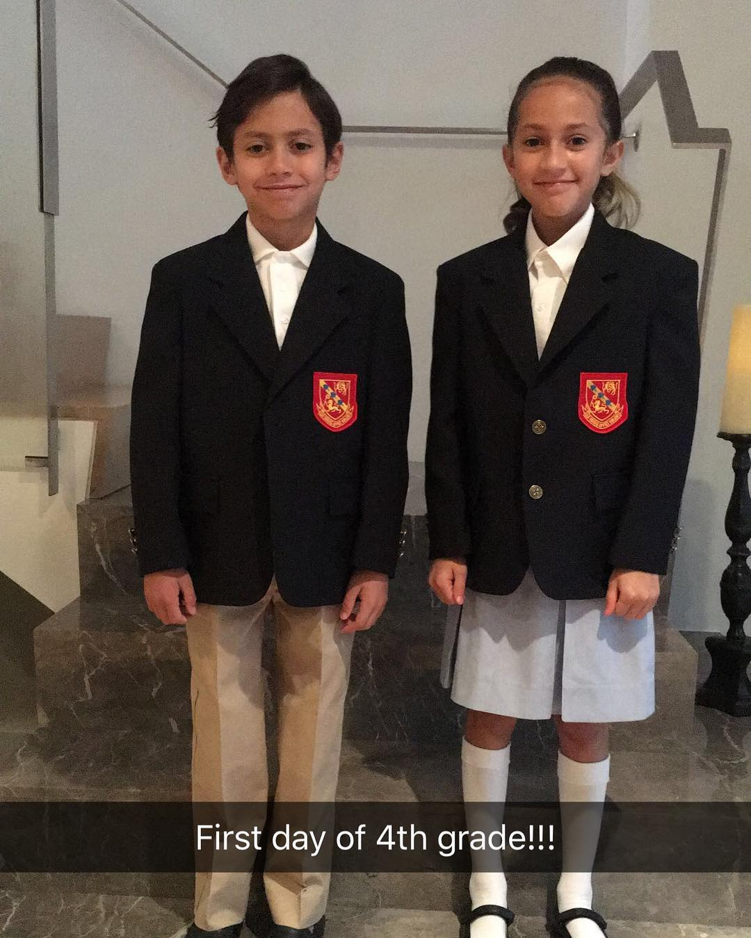 Дженифър Лопес изпрати близнаците в 4-ти клас