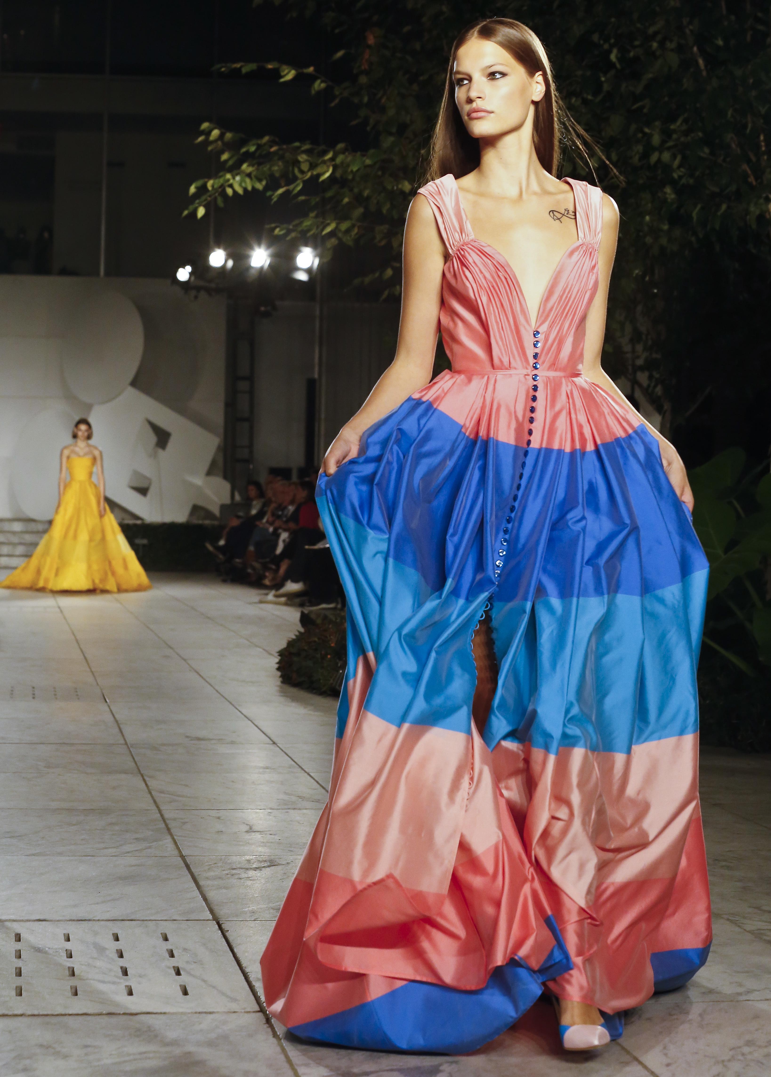 Каролина Ерера представи феерия от цветове