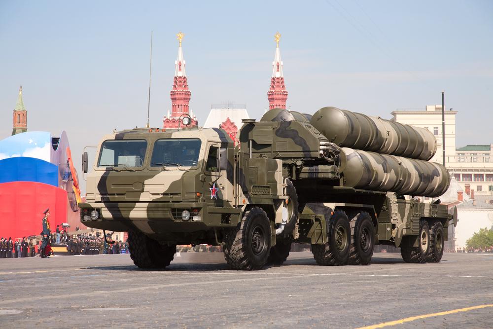 Нов руски ракетно-зенитен дивизион С-400 в Крим