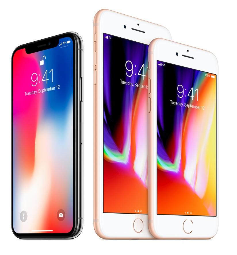Apple представи iPhone 8, iPhone 8+ и iPhone X