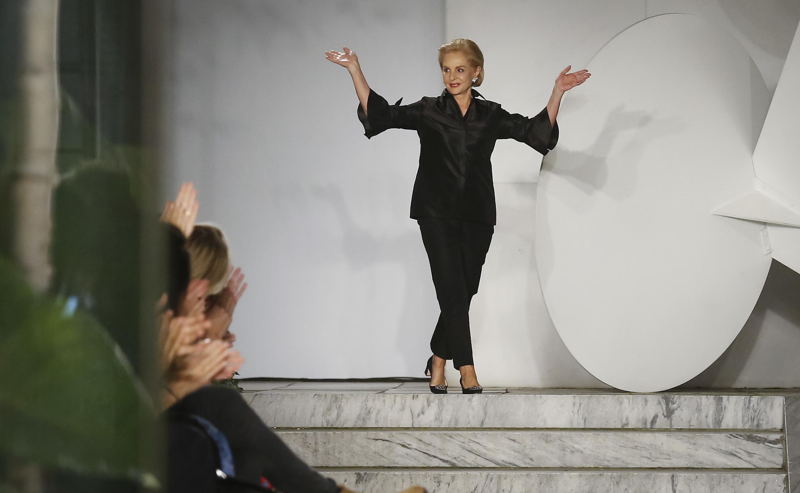 Каролина Ерера напуска ръководството на модната си къща