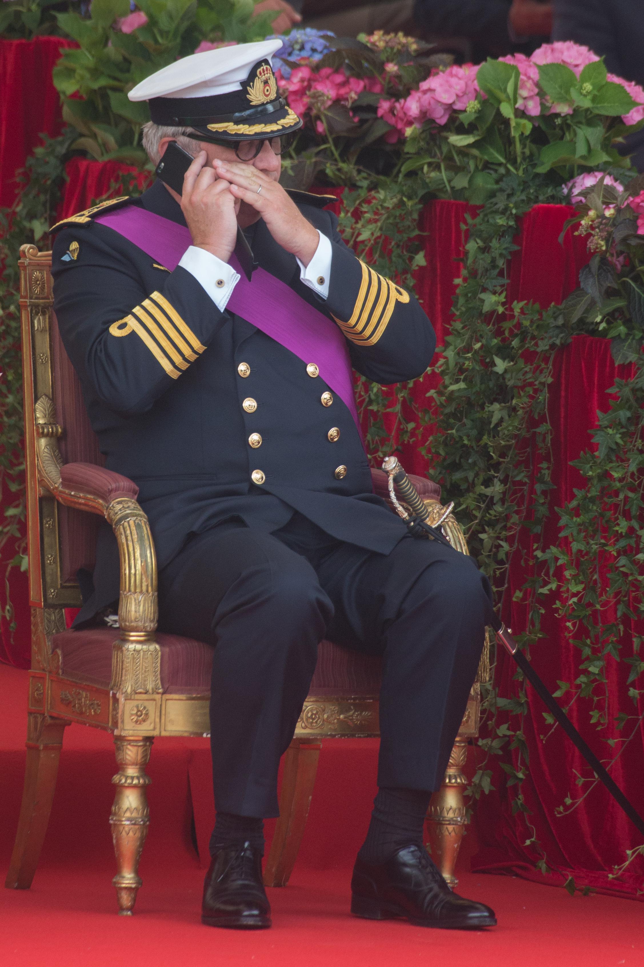 Белгийският принц Лоран може да бъде лишен от издръжка