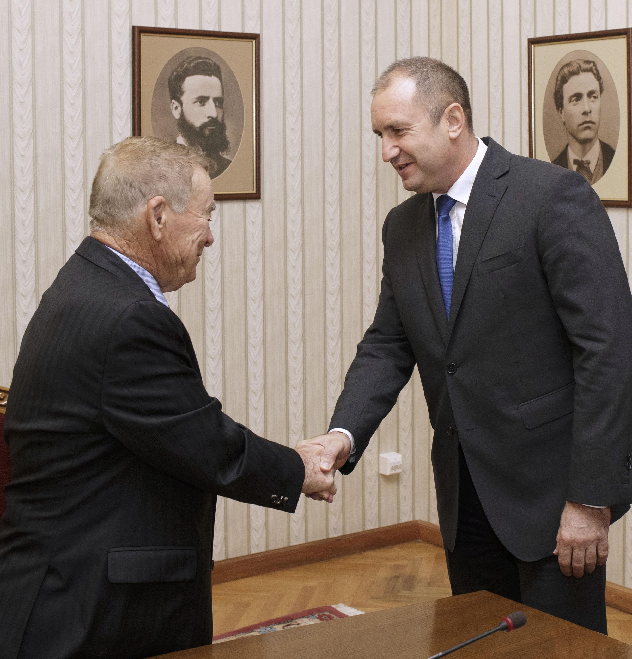 Радев: Игнат Канев е пример за българския бизнес
