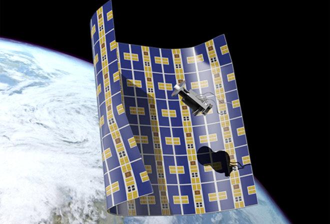 НАСА създава одеяло за събиране на космически боклук