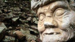 Каменните глави на олмеките - загадка с много неизвестни
