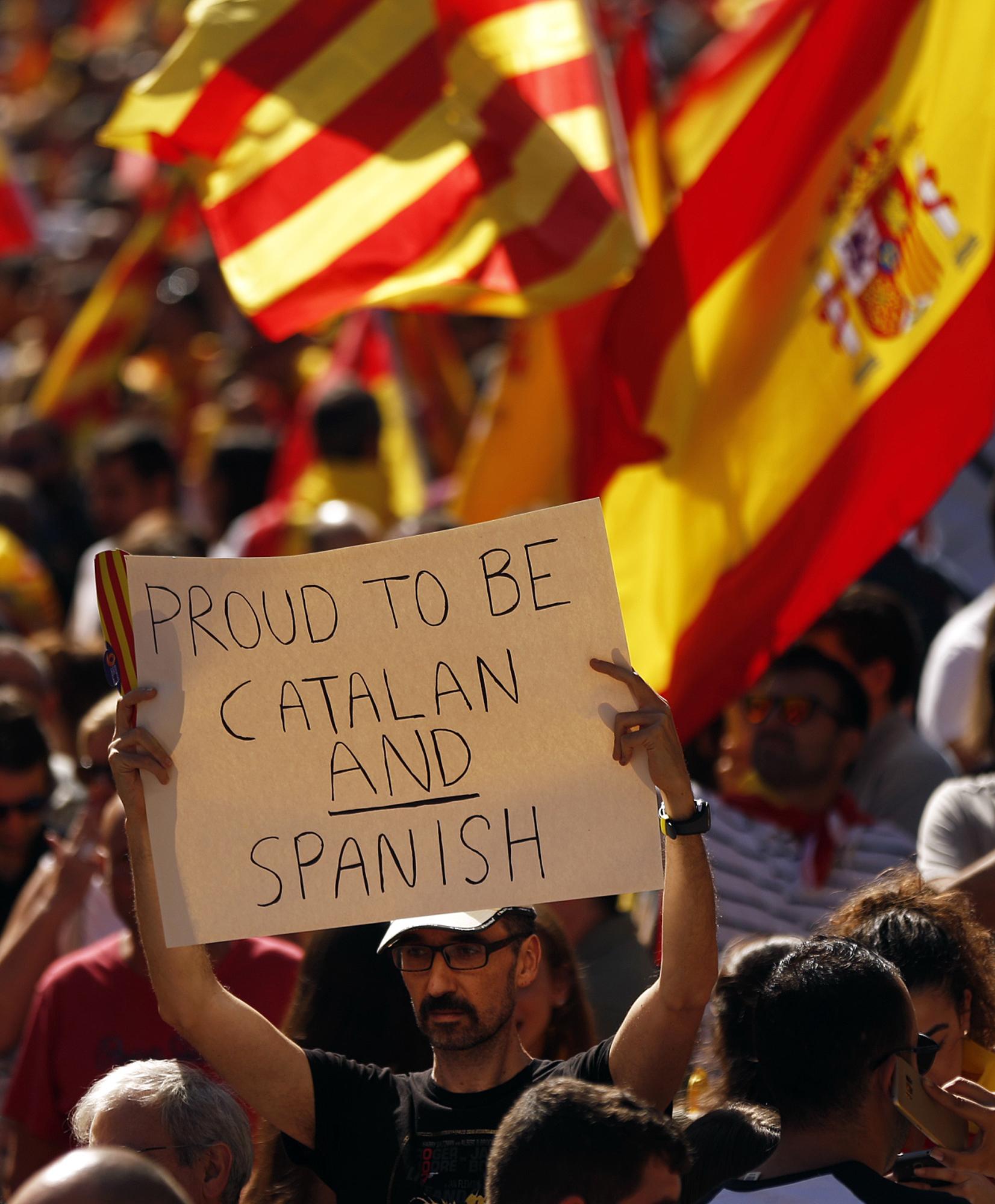 Репресии няма да накарат каталунците да се чувстват испанци