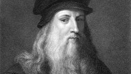 500 г. след смъртта на Леонардо да Винчи, показват кичур от косата му