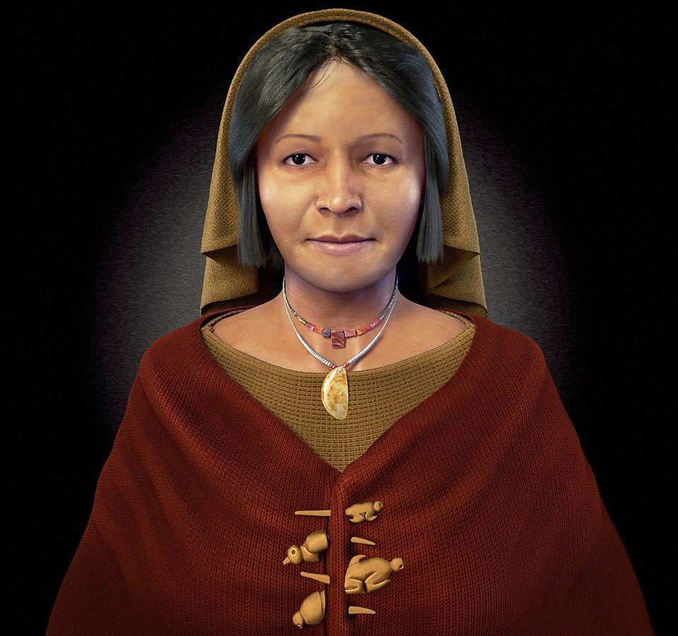 Направиха 3D възстановка на жена от древна цивилизация
