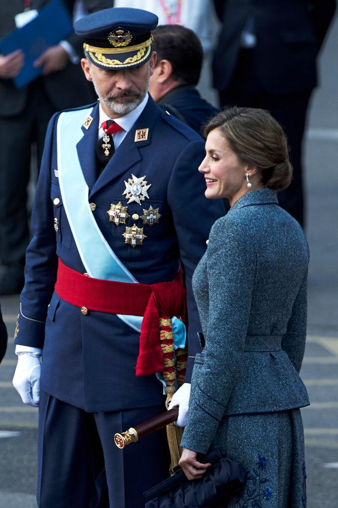 Кралски стил от Фелипе и Летисия на парада