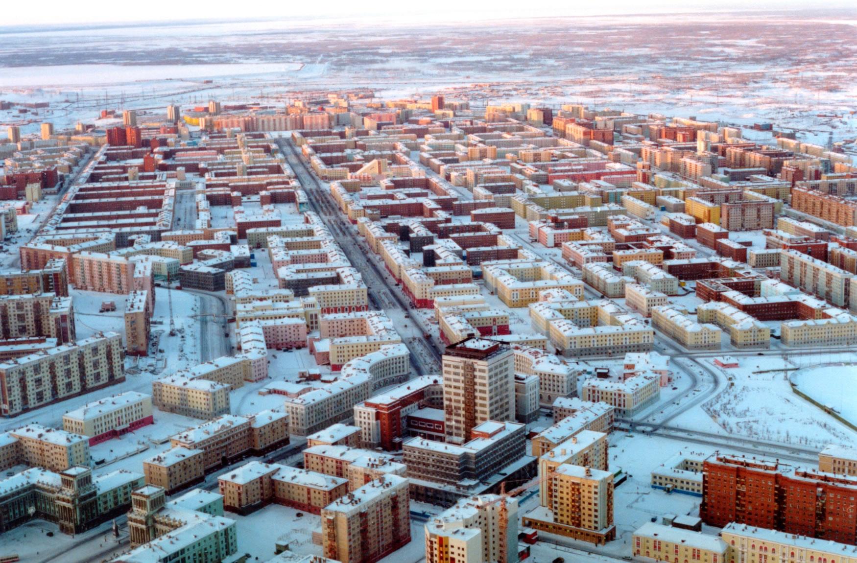 Норилск - най-северният град на планетата (снимки)