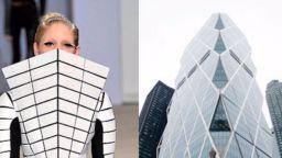 Дизайнерски модели, вдъхновени от... архитектурата