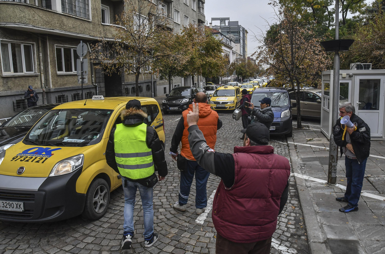 Таксиметрова криза в София