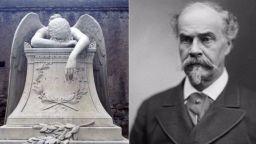 """Скулптурата """"Ангелът на скръбта"""" - една от най-копираните в света"""
