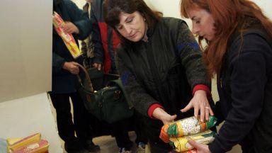 БЧК-Пловдив раздава хранителни помощи в 23 пункта