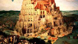 """Картината """"Вавилонската кула"""" - дръзка сатира срещу католическата църква"""