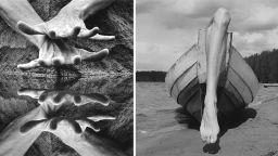 Фотограф използва голото си тяло при създаването на фантастични светове