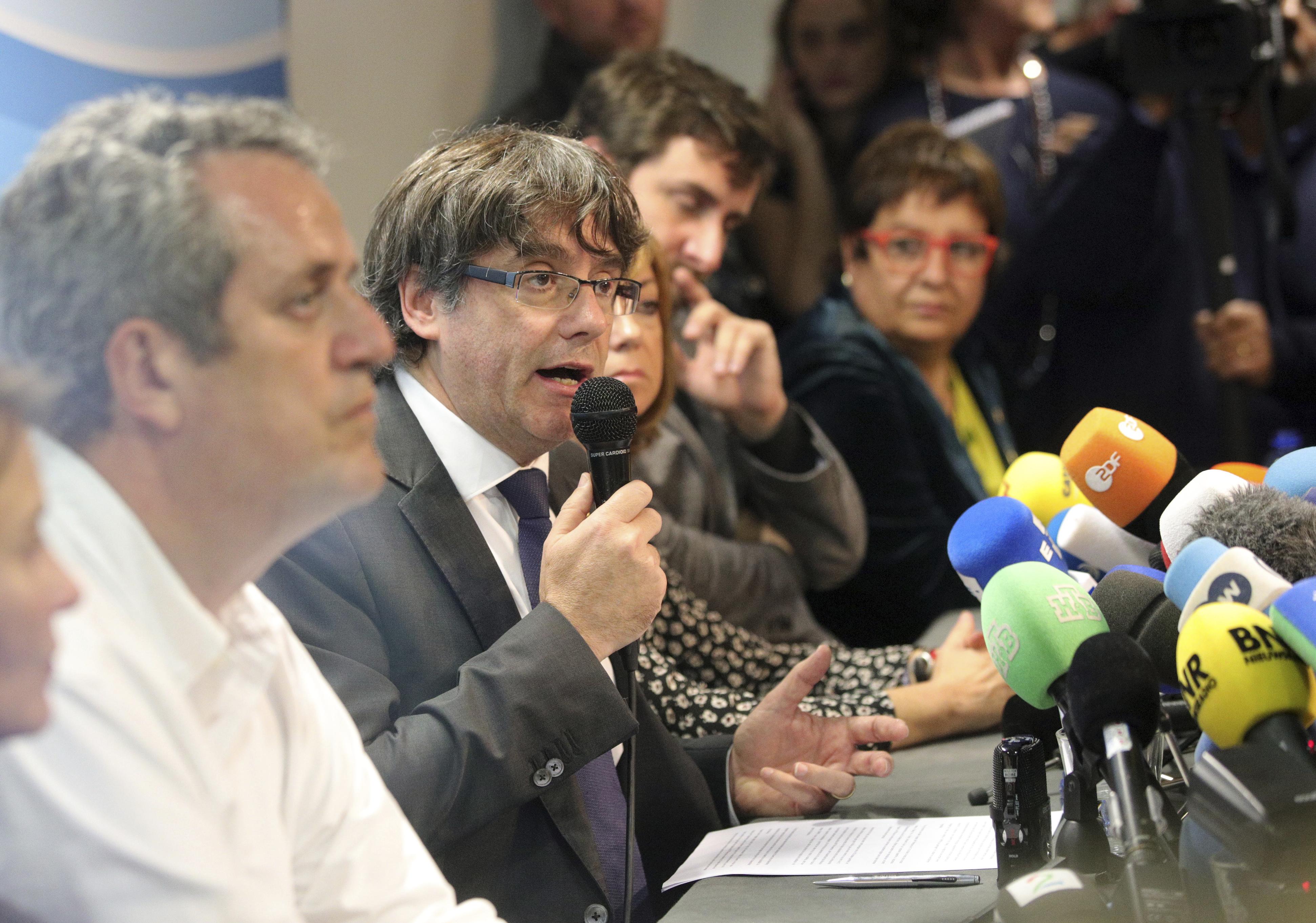 Пучдемон ще се върне, ако Мадрид гарантира справедлив процес