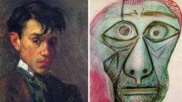 """Вижте """"еволюцията"""" в автопортретите на великия Пикасо от 15 до 90-годишна възраст"""