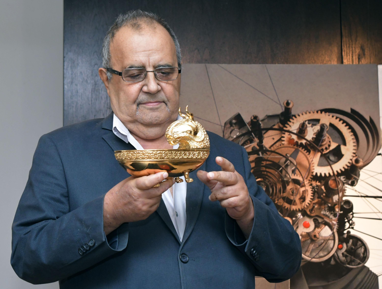 Божидар Димитров с награда като на президента на Лувъра