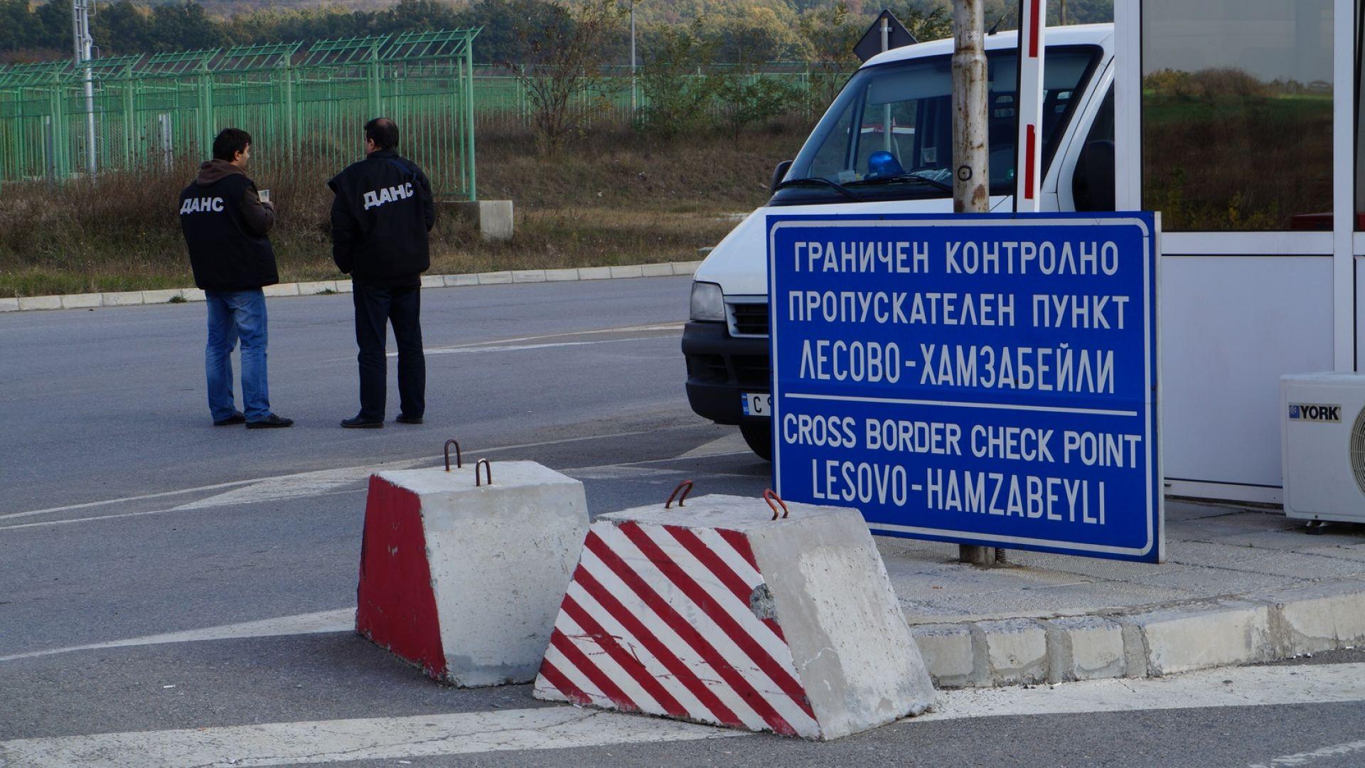 """Тираджия бе прегазен на пътя преди ГКПП """"Лесово"""""""