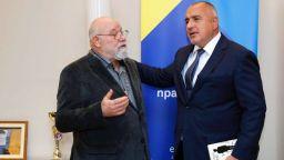 """Владимир Зарев беше удостоен с държавната награда """"Св. Паисий Хилендарски"""" за 2017 г."""
