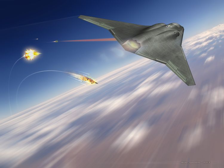 "Lockheed Martin работи по ""лазерни самолети"""