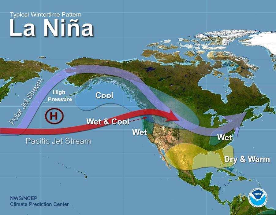 Започна явлението Ла Ниня, ще се задържи няколко месеца