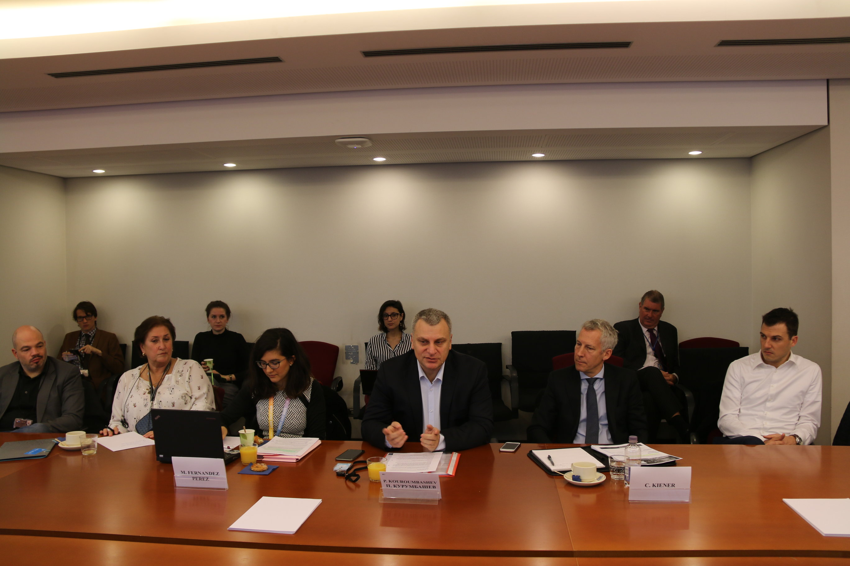 Комисия в ЕП одобри ключови предложения на Петър Курумбашев