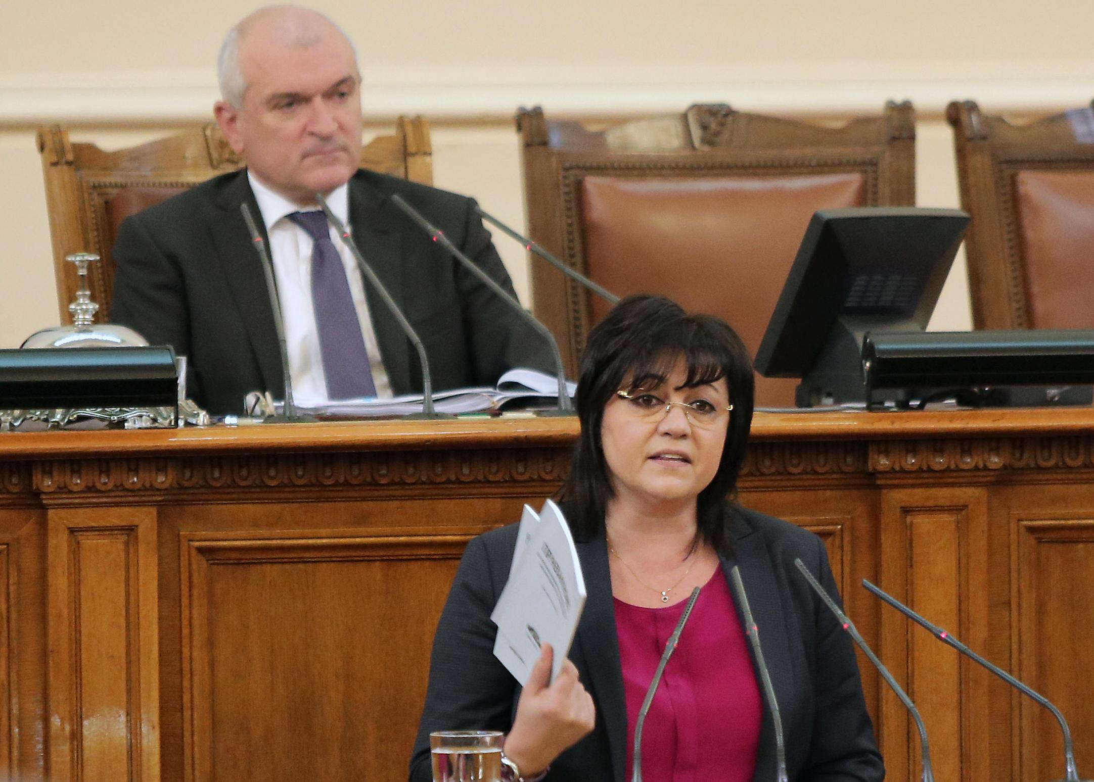 Нинова: Последен отчаян опит на ГЕРБ пред Брюксел