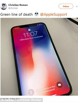Странни дефекти в iPhone X