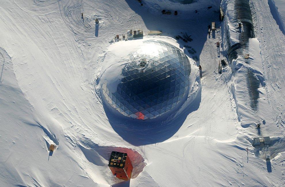 Роскосмос ще открие спътников център в Антарктида