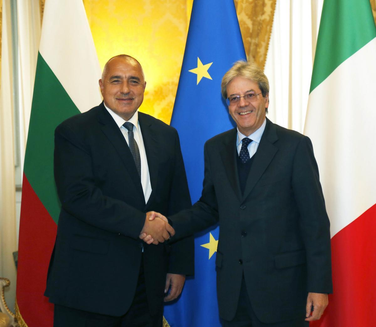 Джентилони: В България има поле за инвестиции
