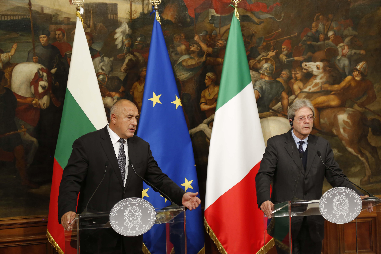Борисов в Рим: Западните Балкани и мигрантите на масата
