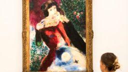 """""""Влюбените"""" на Шагал беше продадена за рекордните 28,5 милиона долара"""