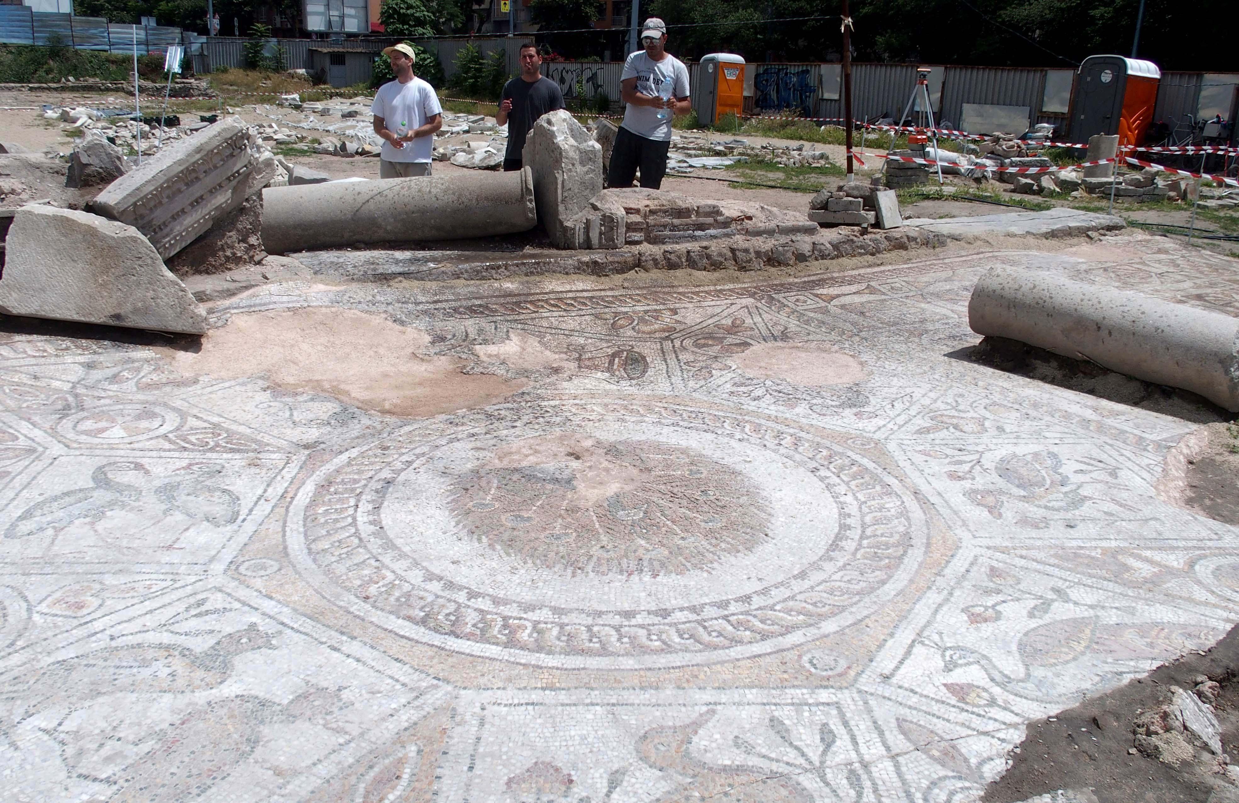 Голямата базилика в Пловдив влезе в списък на ЮНЕСКО